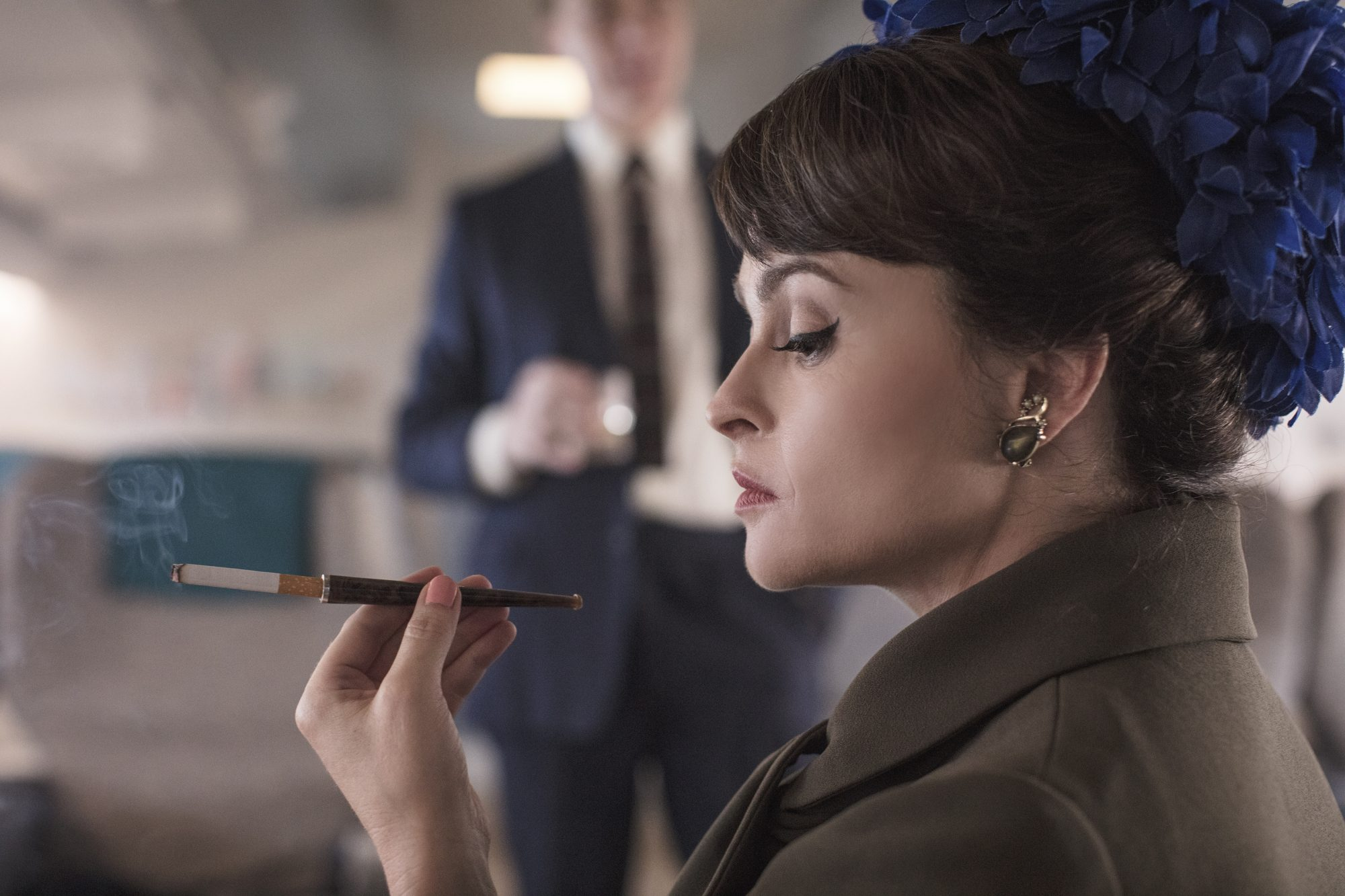 the crown princess margaret, helena bonham carter