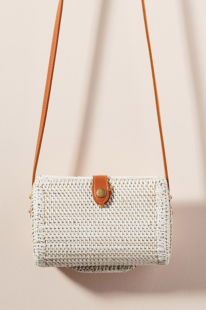 Anthropologie bali petite crossbody bag