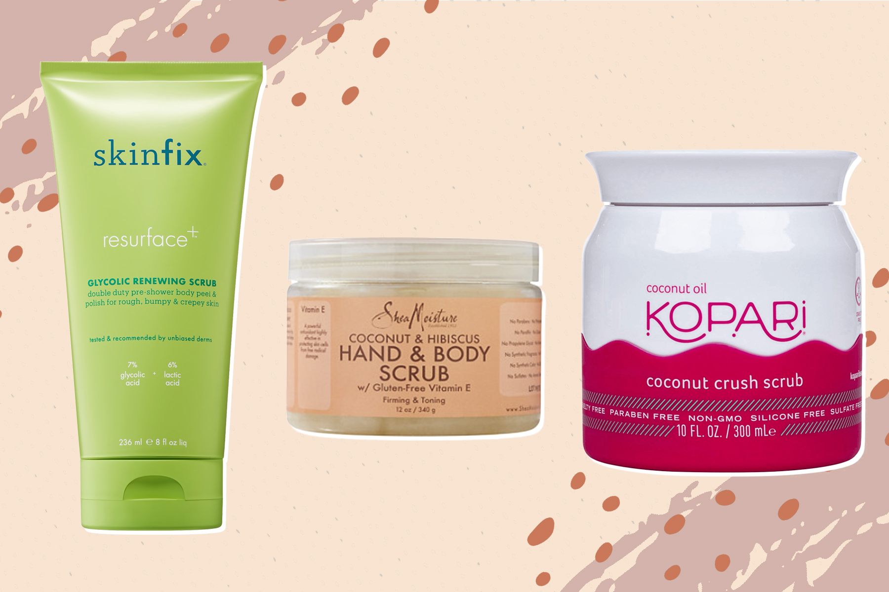 best body scrubs, best body scrub for dry skin