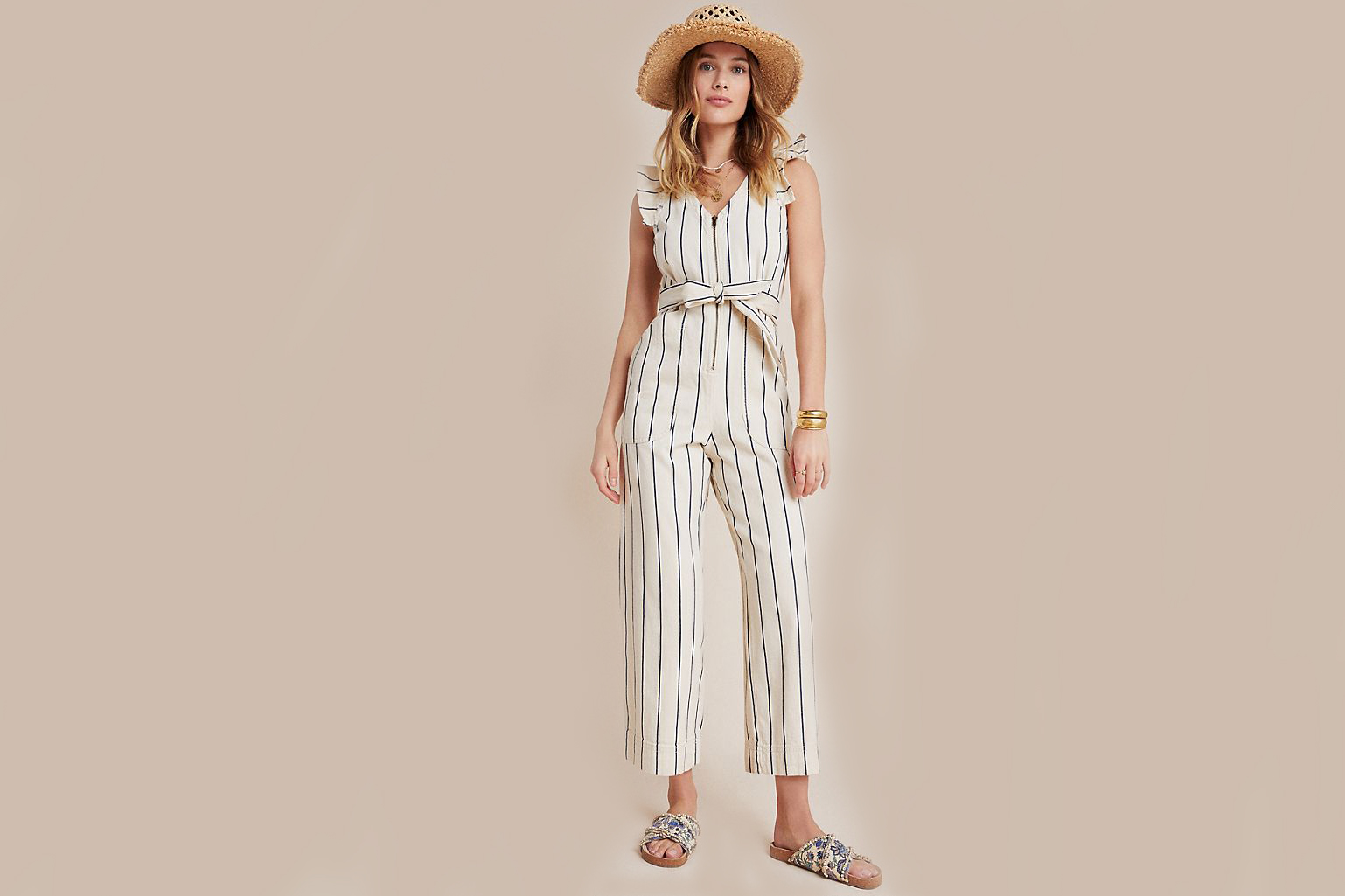 Anthropologie Hedda Jumpsuit