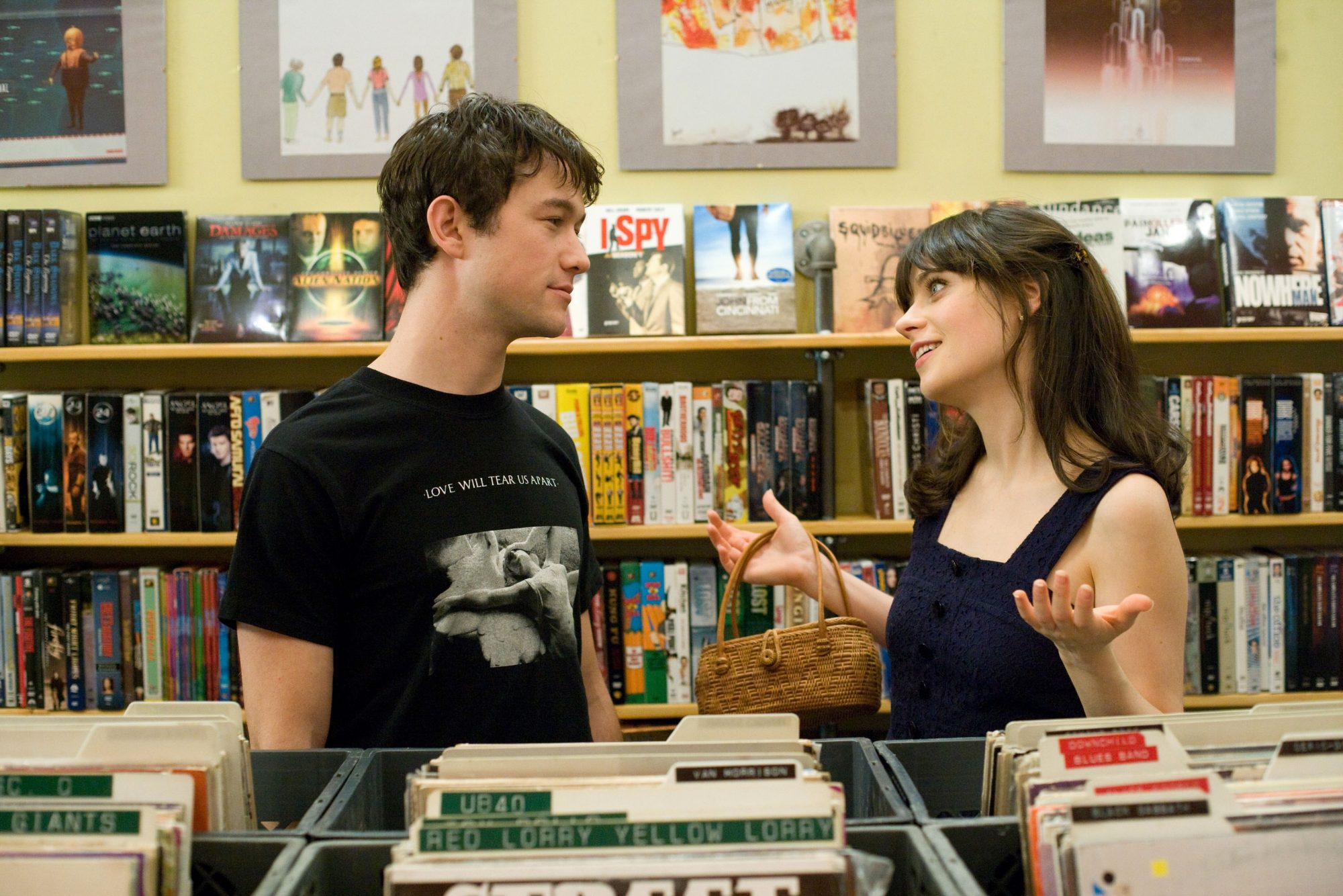500 days of summer joseph gordon leavitt and zoe deschanel