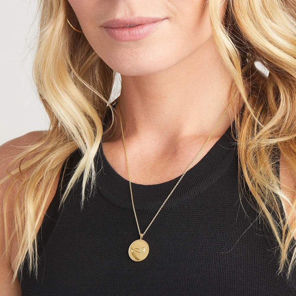 gifts for leos, leo constellation astrology necklace