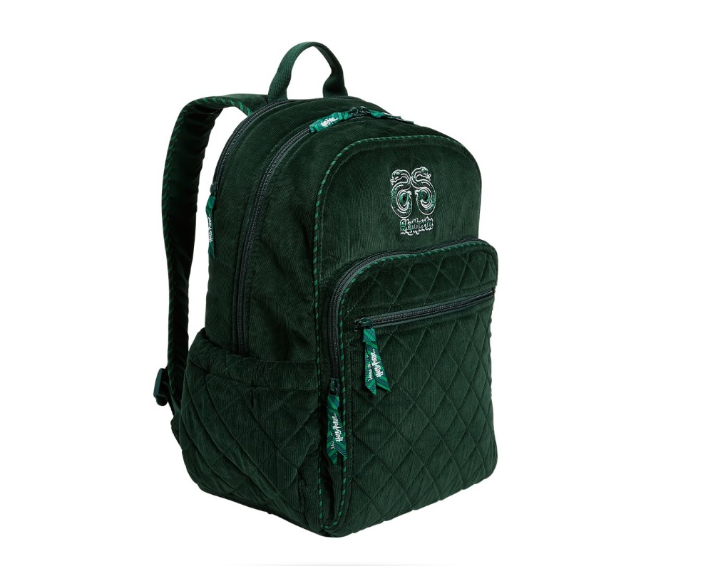 vera bradley harry potter slytherin backpack