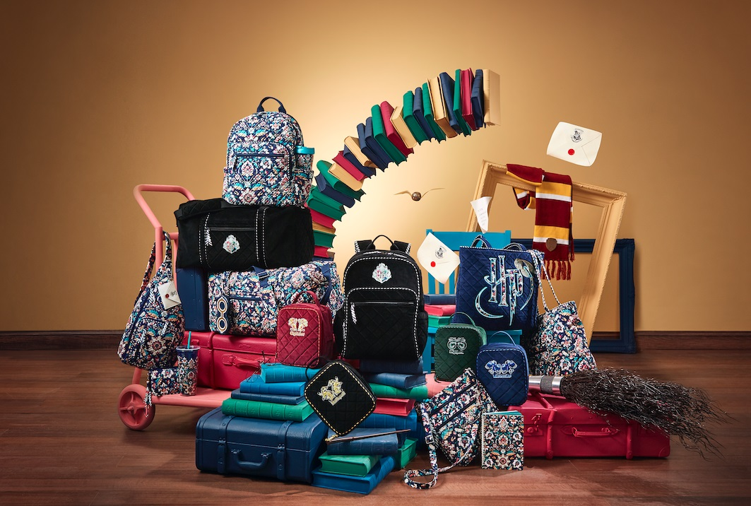 vera bradley x harry potter collection bags
