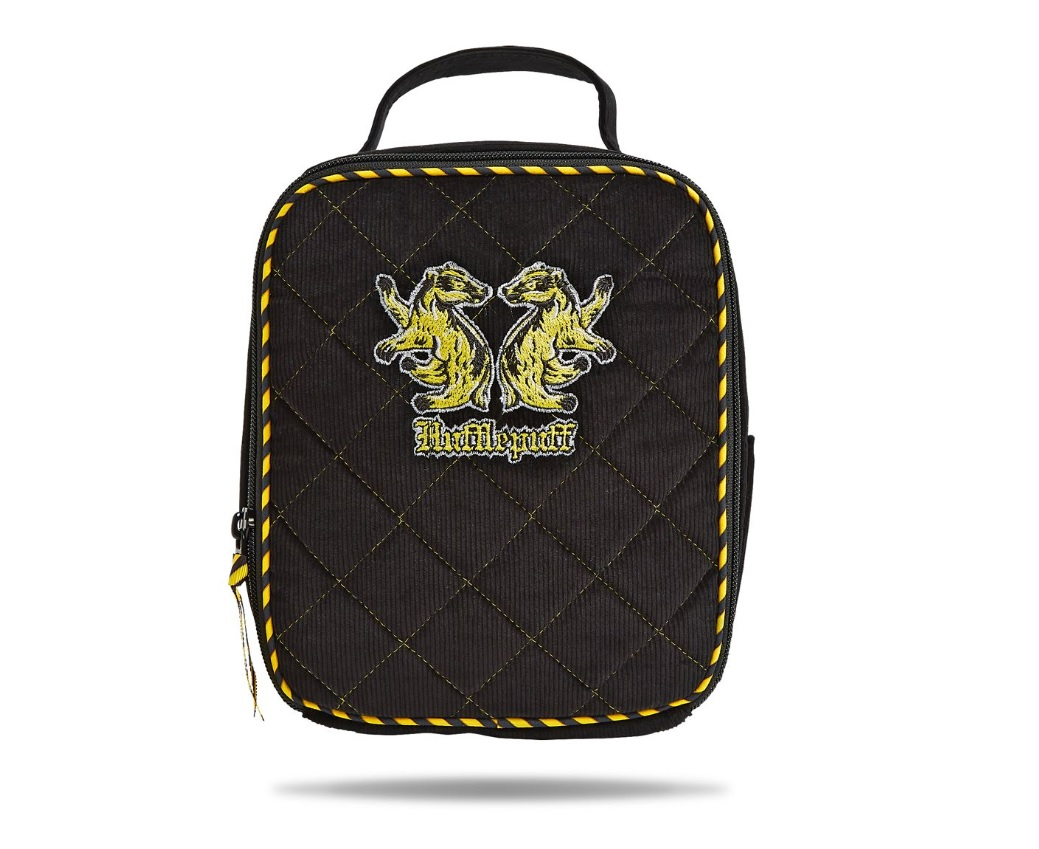 vera bradley harry potter lunch bag in hufflepuff logo