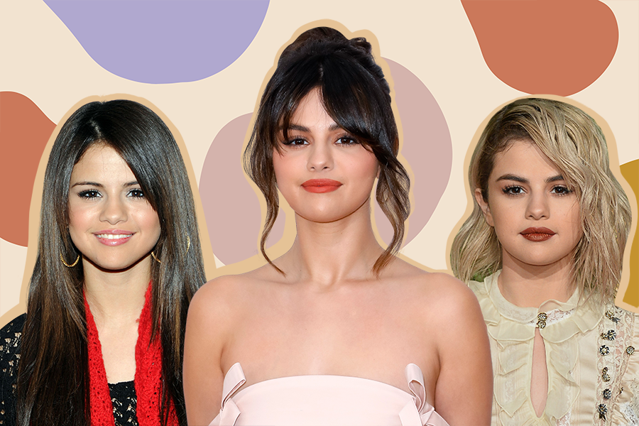 Selena Gomez birthday, sel;ena gomez beauty looks, selena gomez hair, makeup