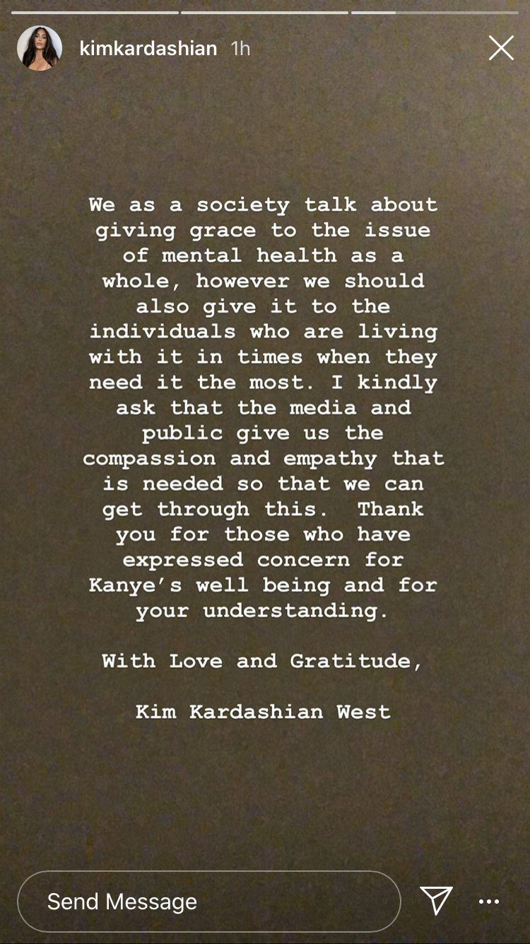 Kim Kardashian speaks out on Kanye West's bipolar disorder
