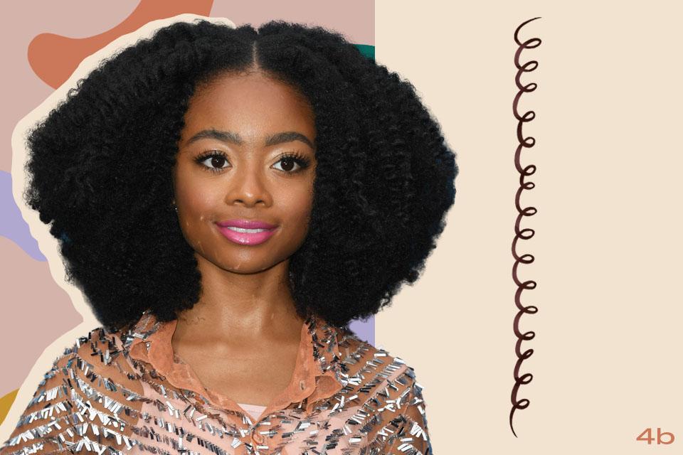 skai jackson curly hair