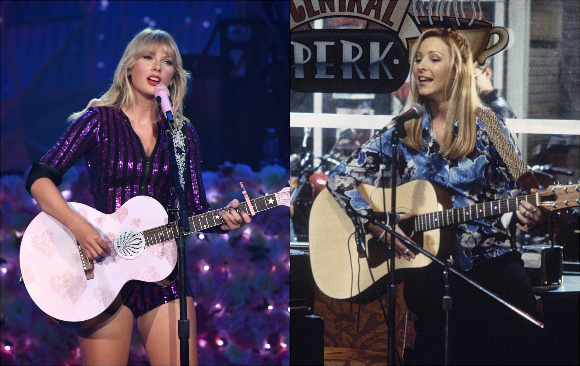 taylor swift and phoebe buffay from friends