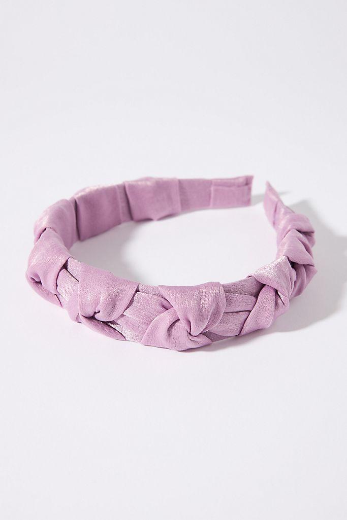 anthropologie skye braided headband