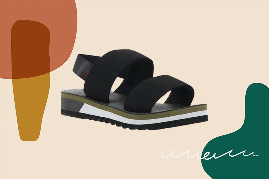chooka flatform sandals, comfy sandals