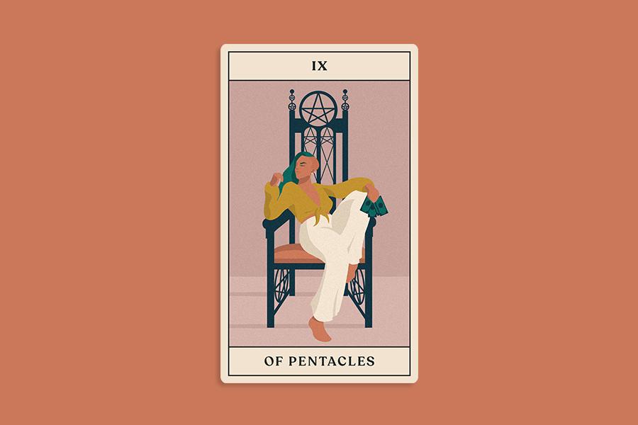 august tarotscope, tarot card