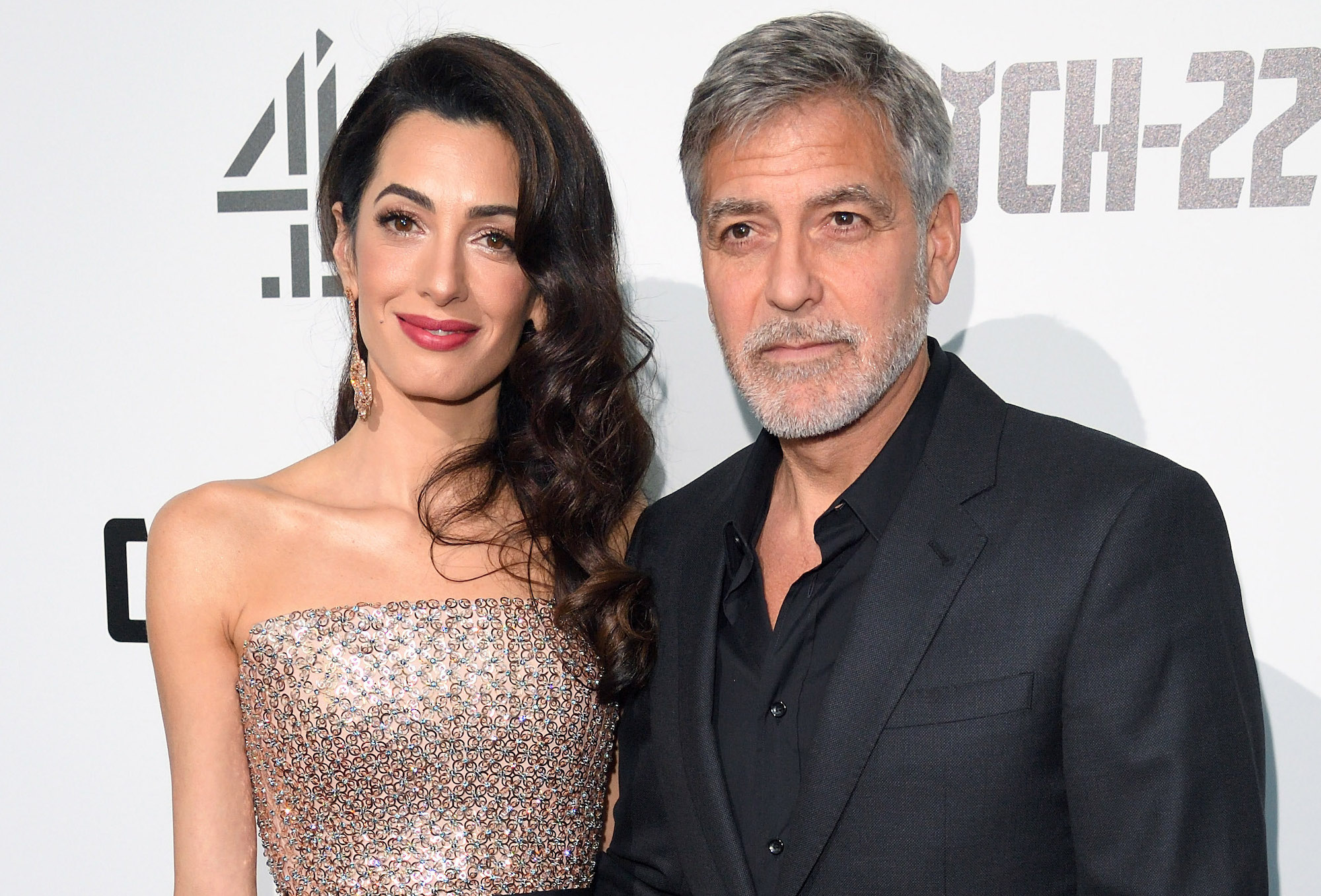 george clooney, amal clooney, lebanon donations