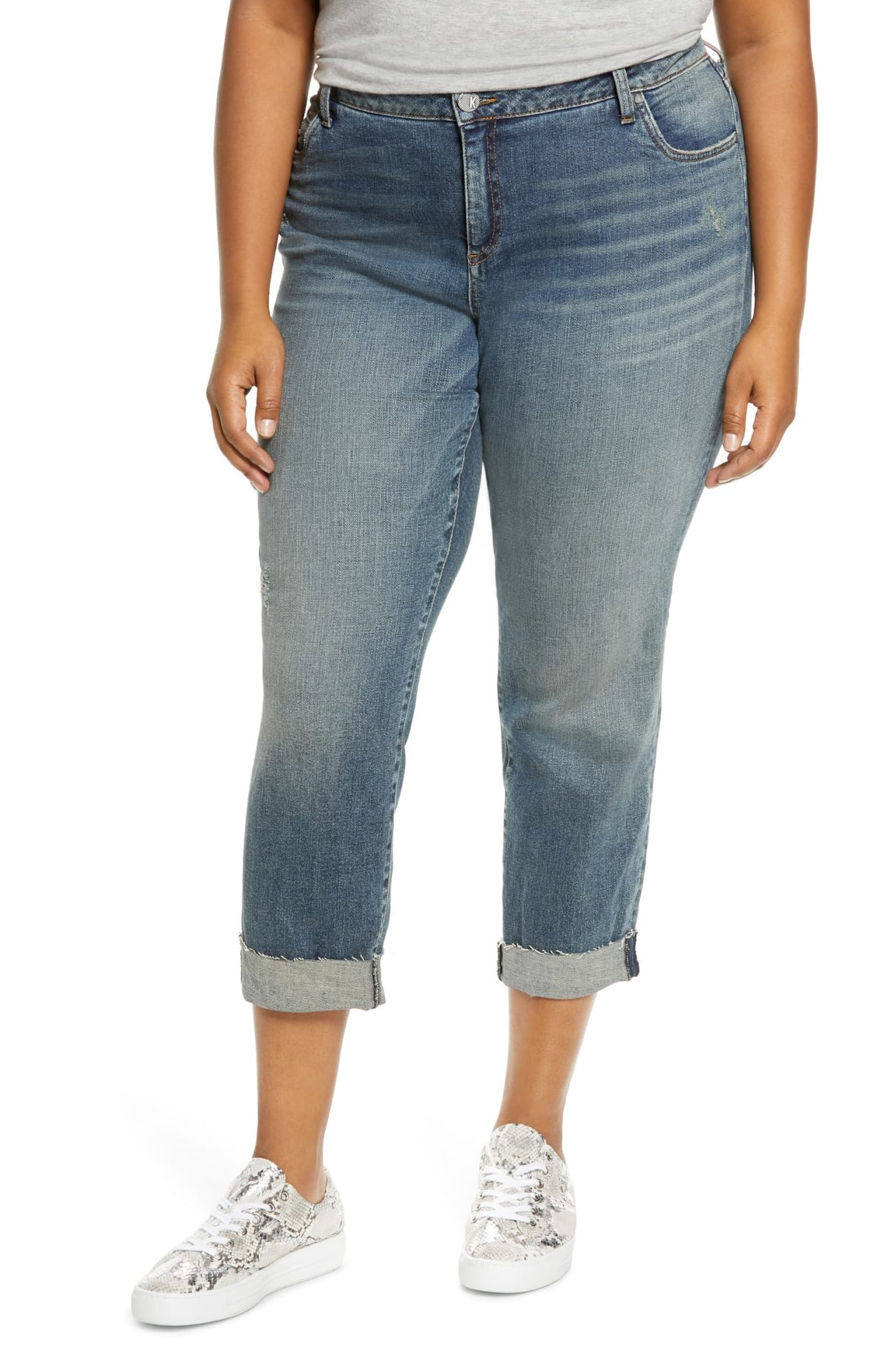 best plus size boyfriend jeans, nordstrom kut from the kloth jeans