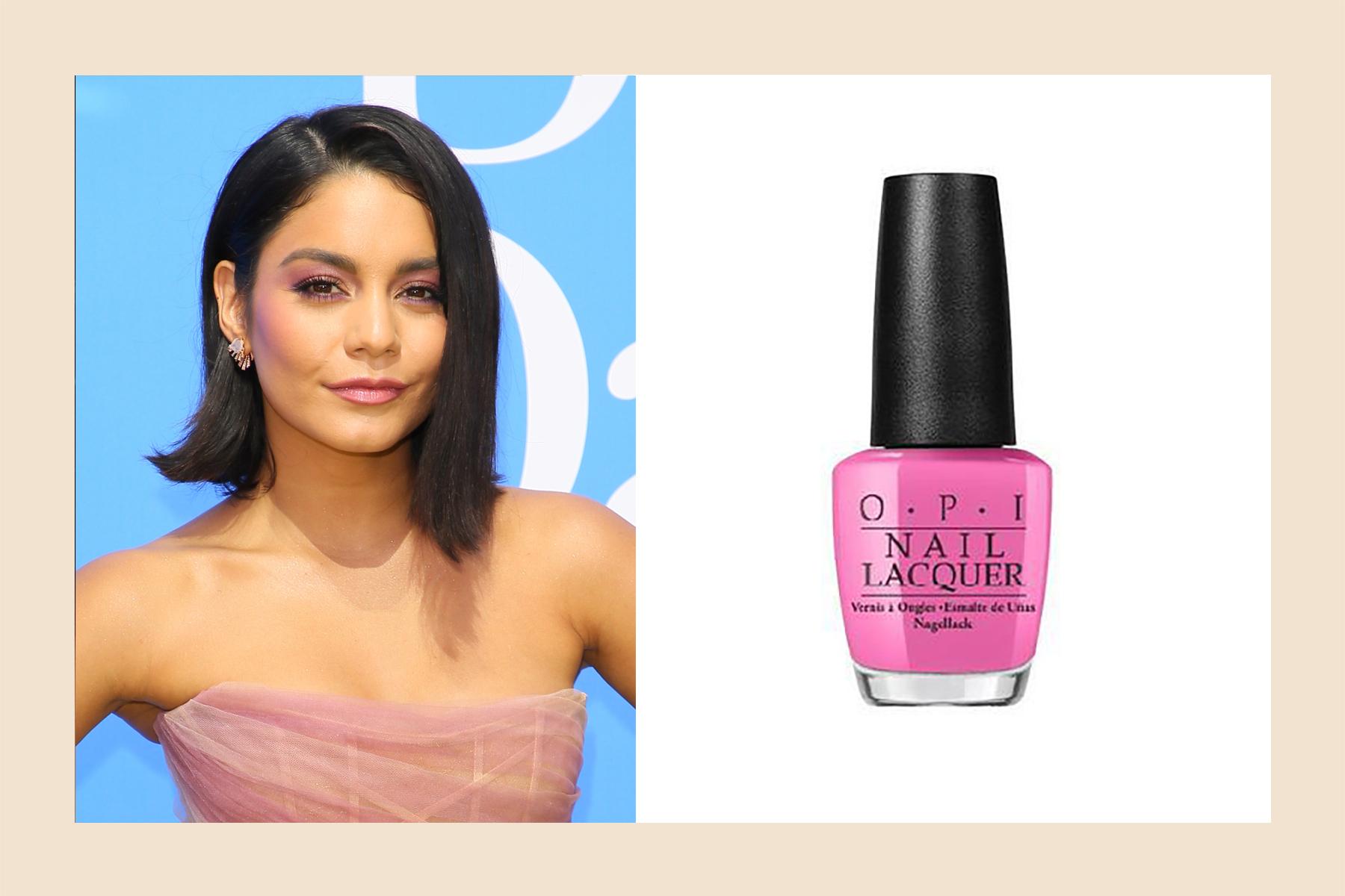 Vanessa Hudgens skin tone nail polish