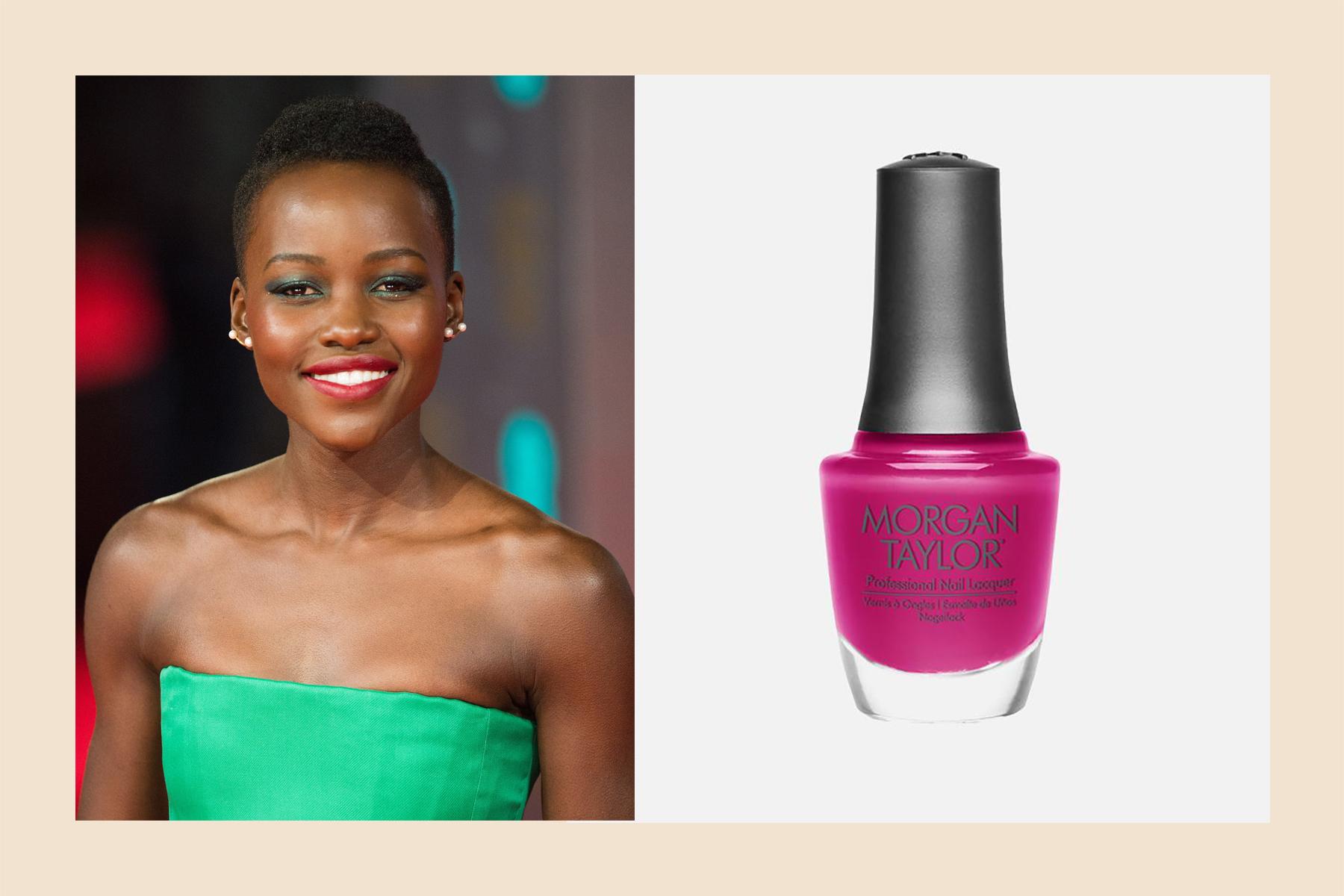 Lupita pink nail polish