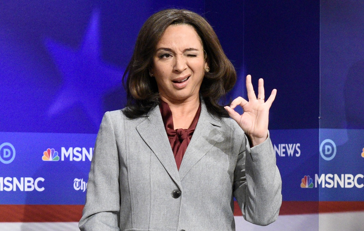 maya rudolph as kamala harris on SNL