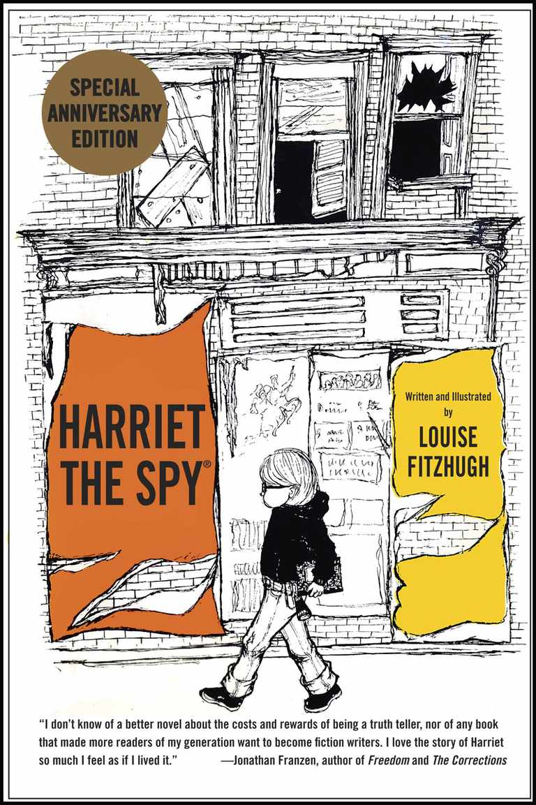 harriet the spy book cover