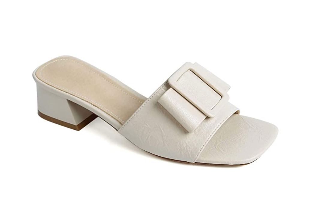 amazon sandals square toed