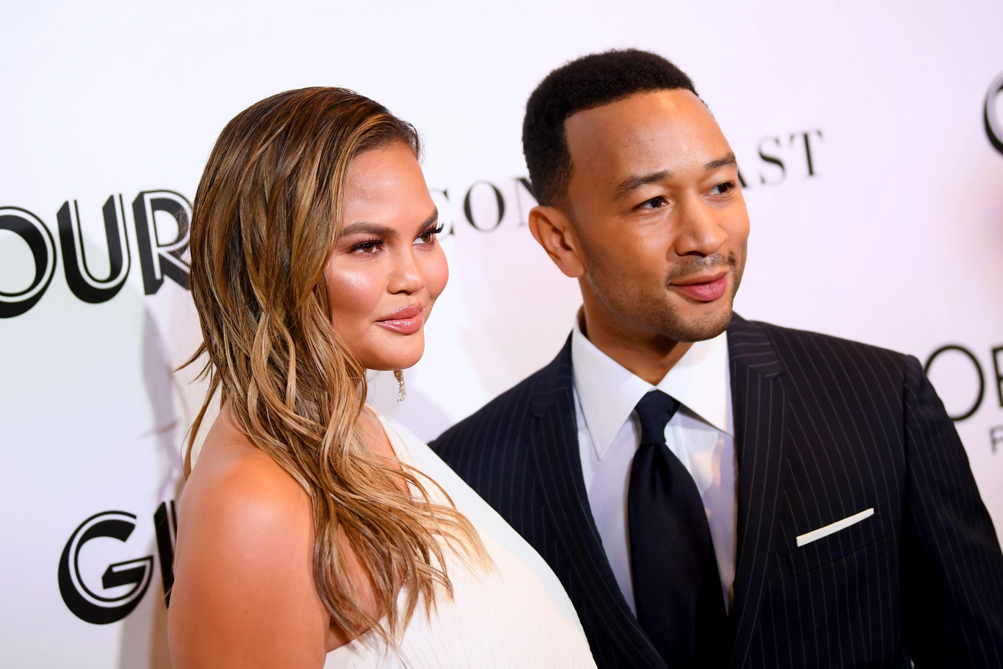 Chrissy Teigen false pregnancy test