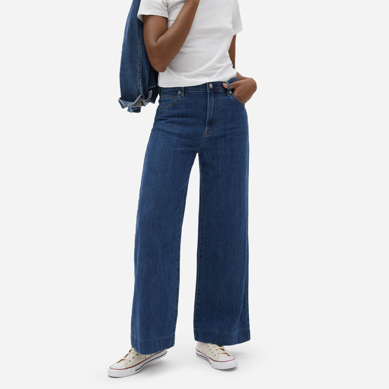 everlane wide leg jeans best jeans for each zodiac sign
