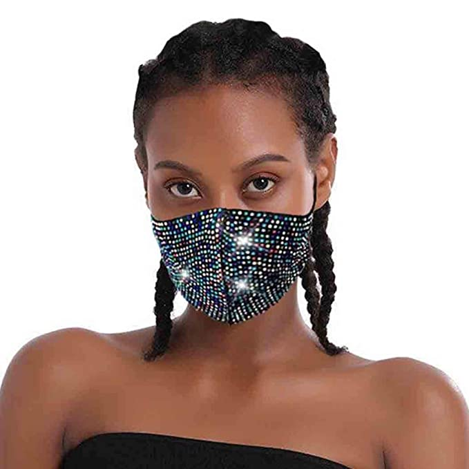 ariana grande sparkle face mask amazon