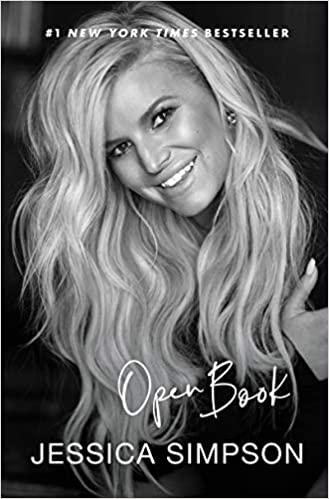 Jessica Simpson Open Book