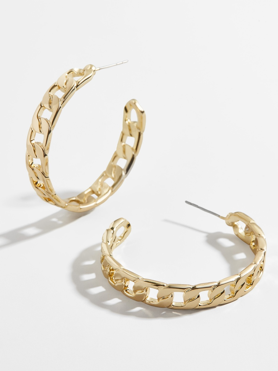 BaubleBar chain hoops Labor Day 2020 Sale
