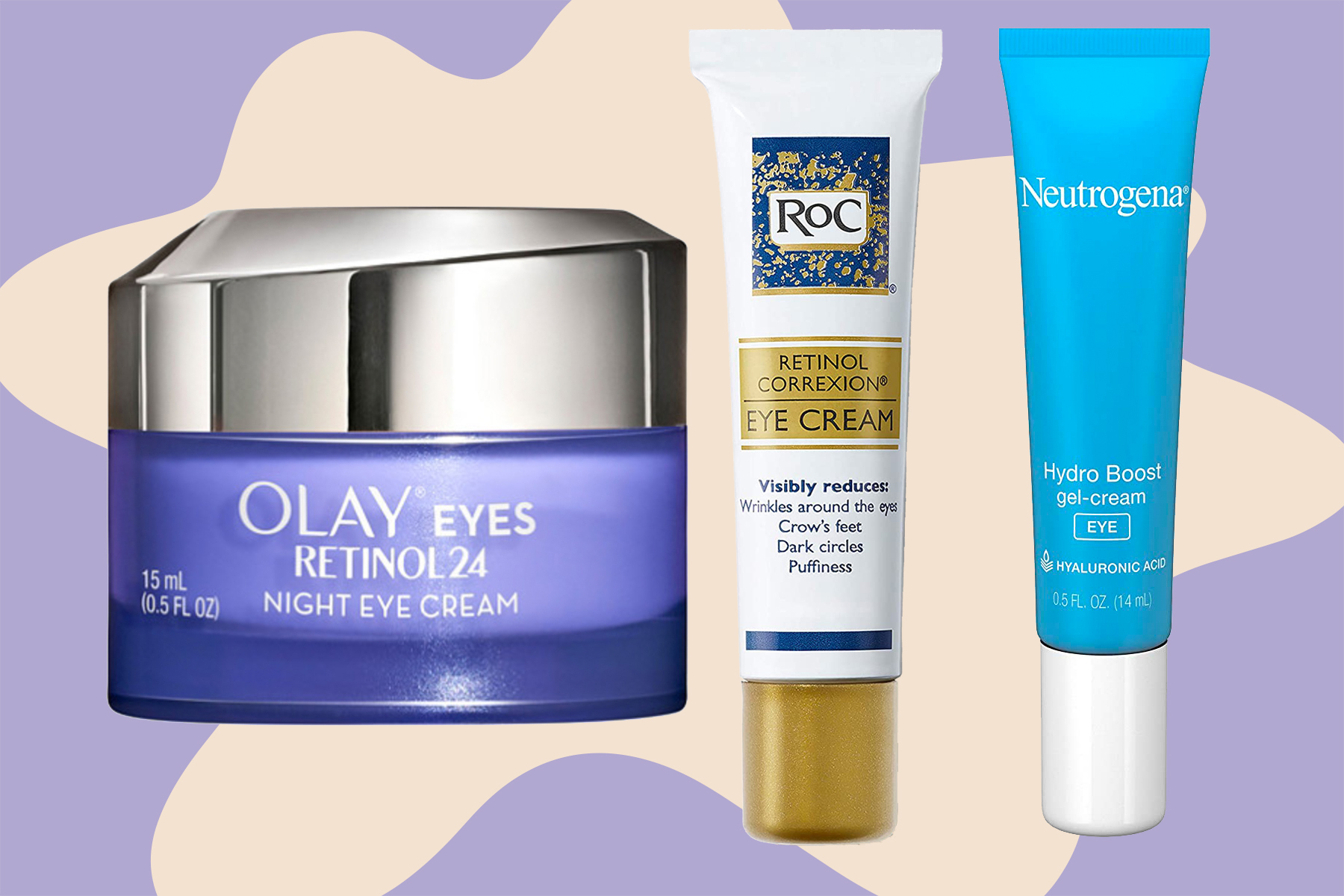 best drugstore eye creams 2020, best eye cream for dark circles