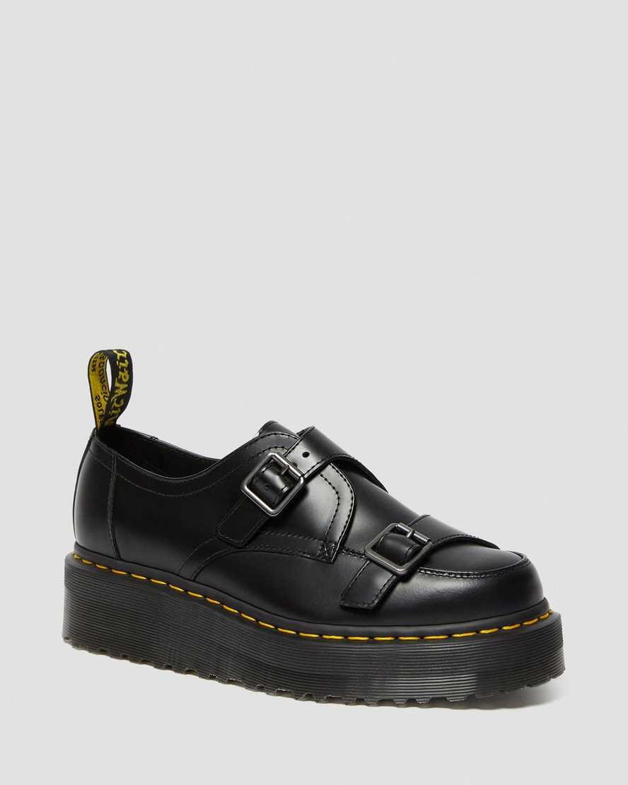Dr. Martens Sidney Monk Strap Creeper Platform Shoes