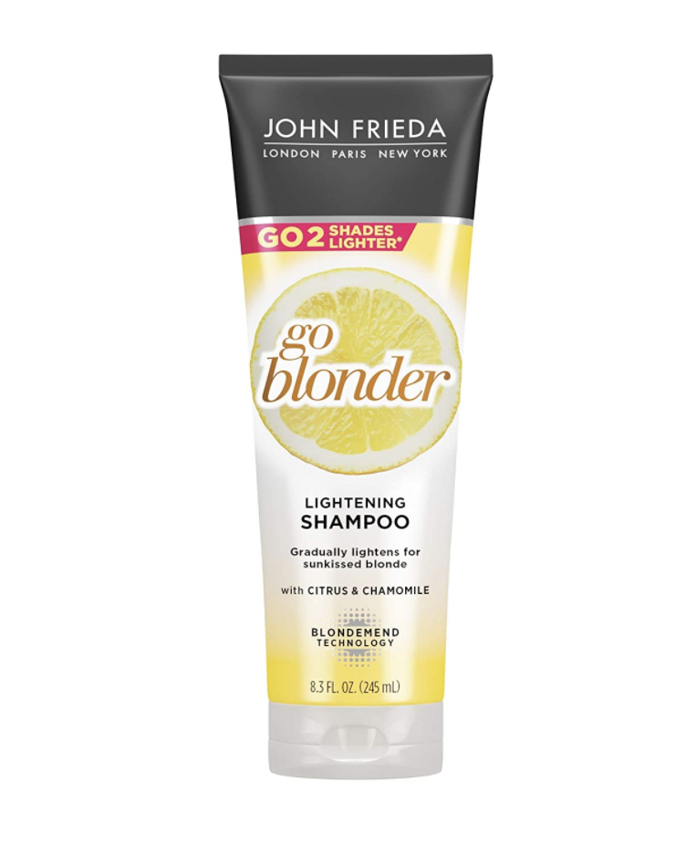 john frieda go blonder shampoo review