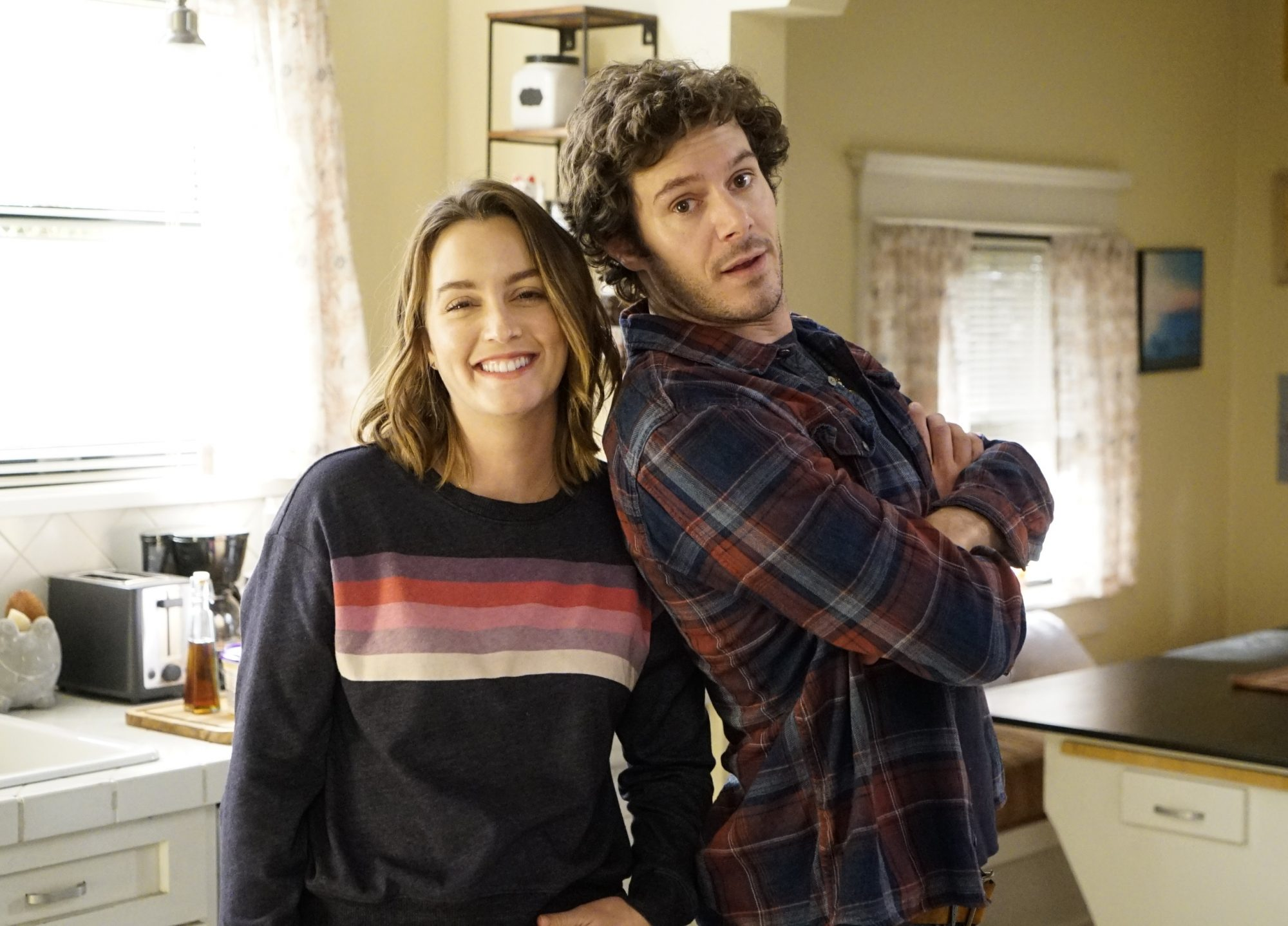 leighton meester and adam brody new baby