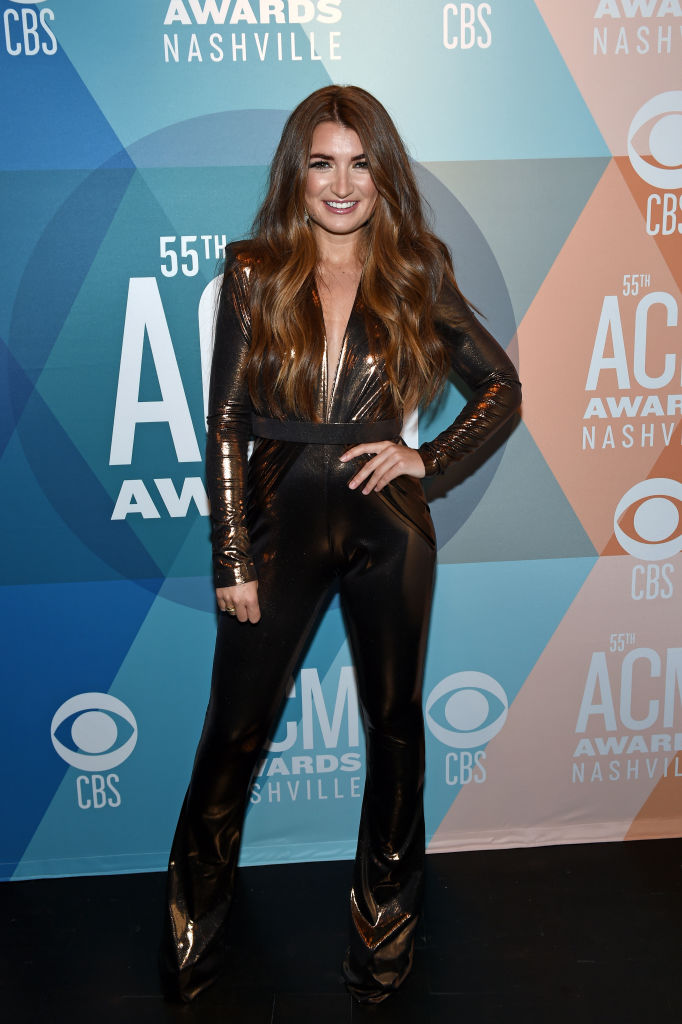 tenille townes 2020 acm awards red carpet