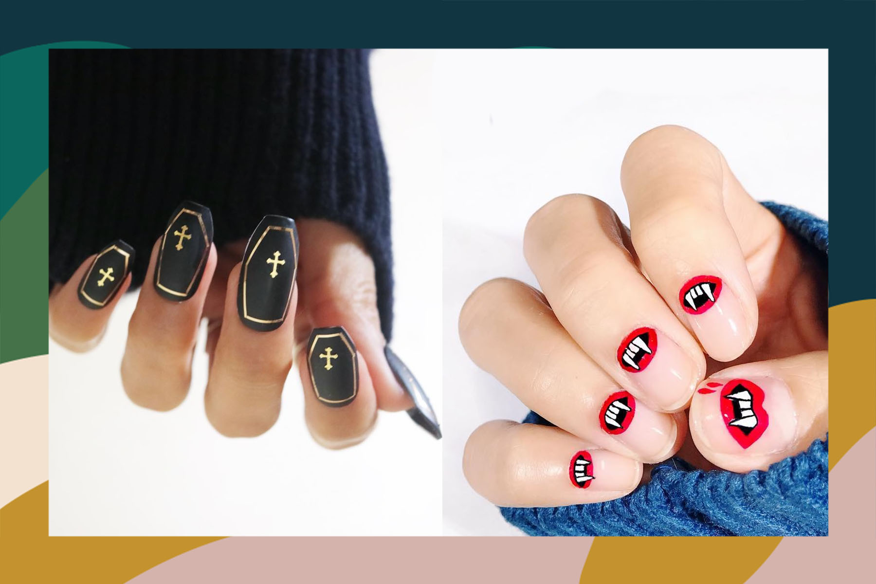 halloween nail art ideas instagram