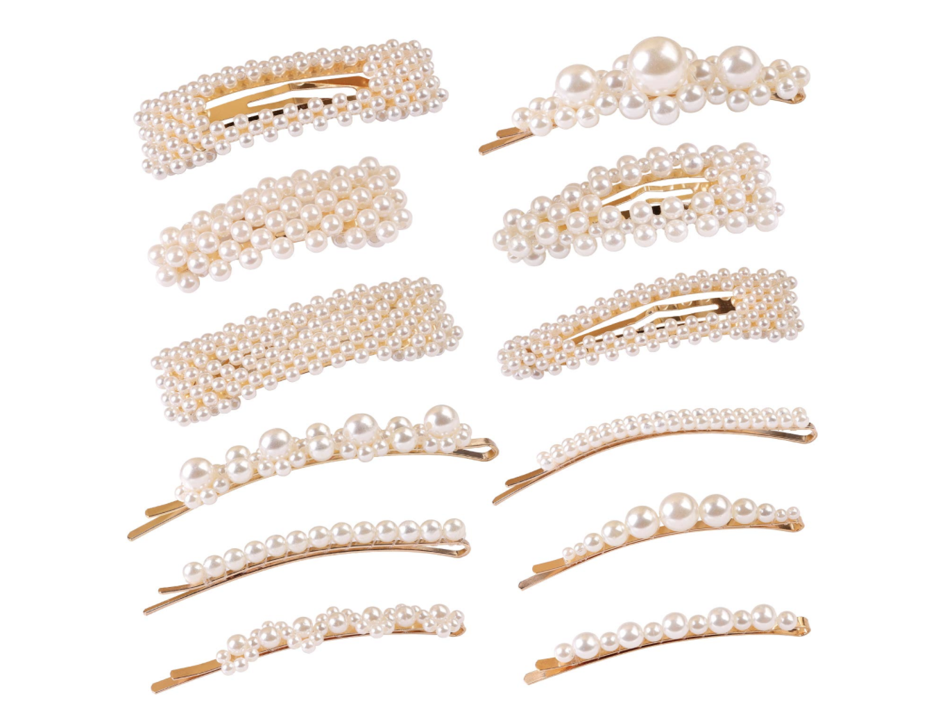 amazon pearl hair clips