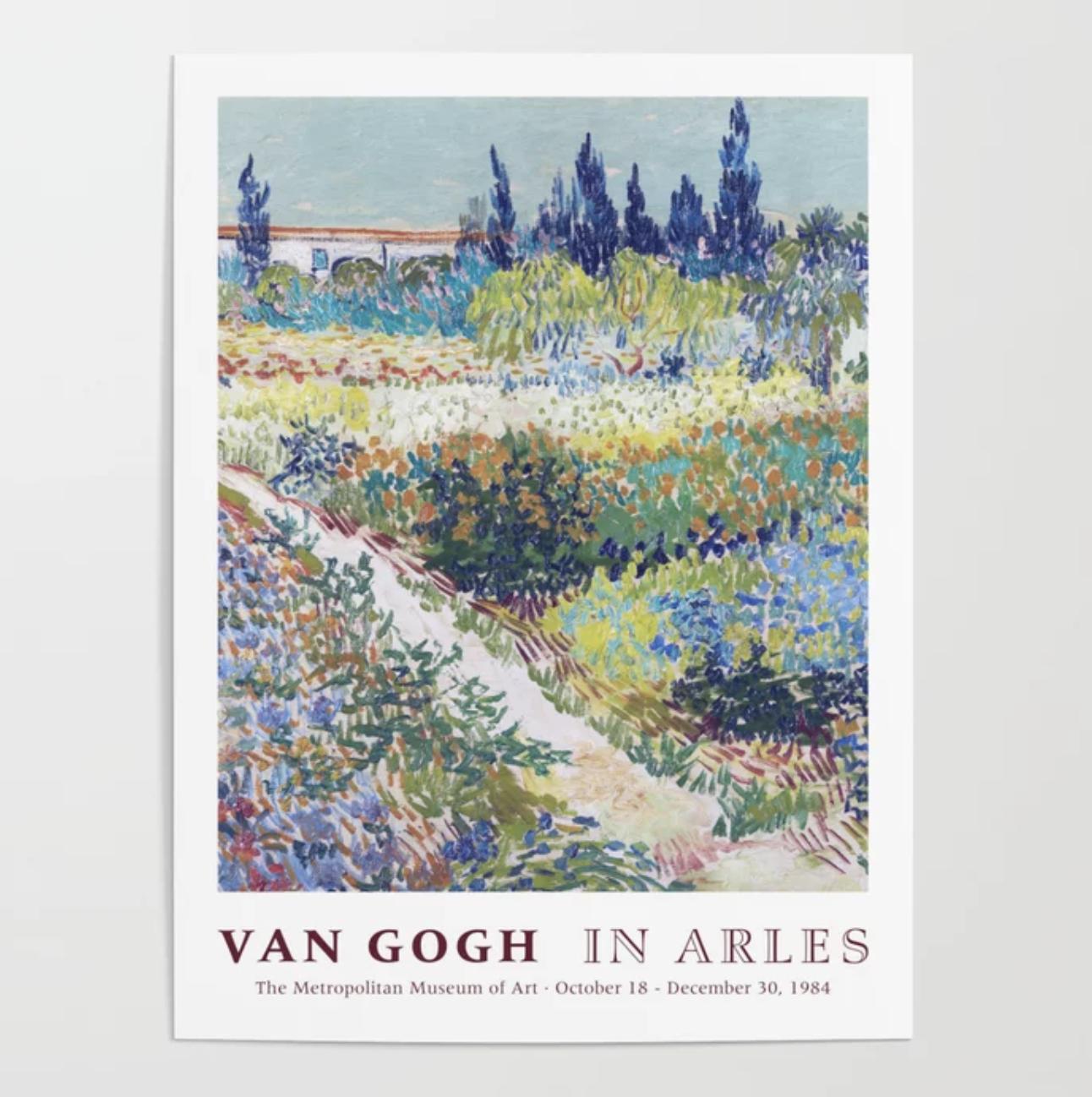 society 6 van gogh print
