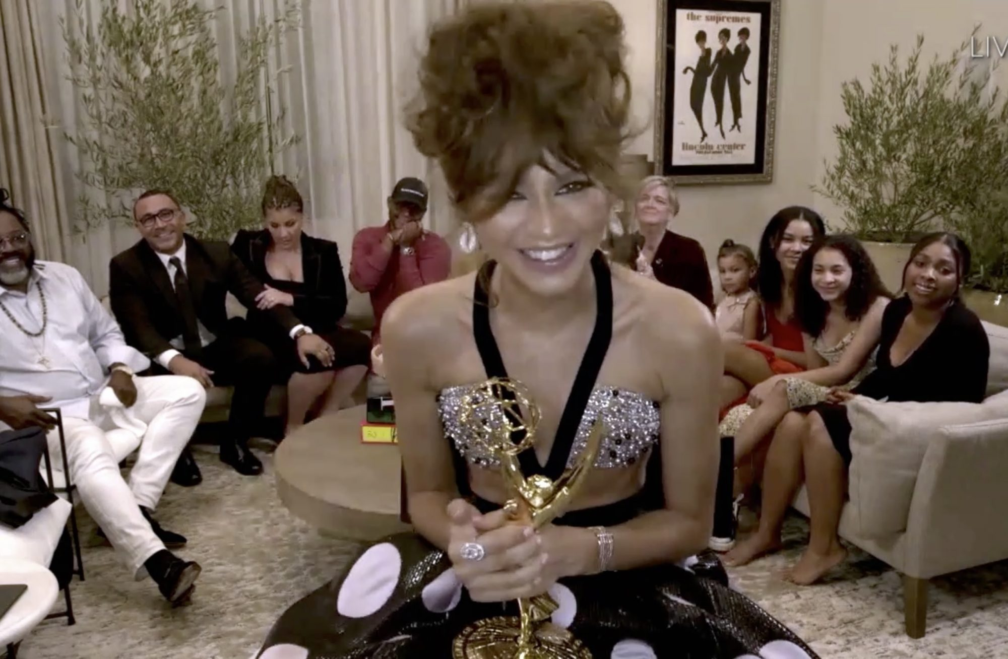 zendaya best 2020 emmys moments