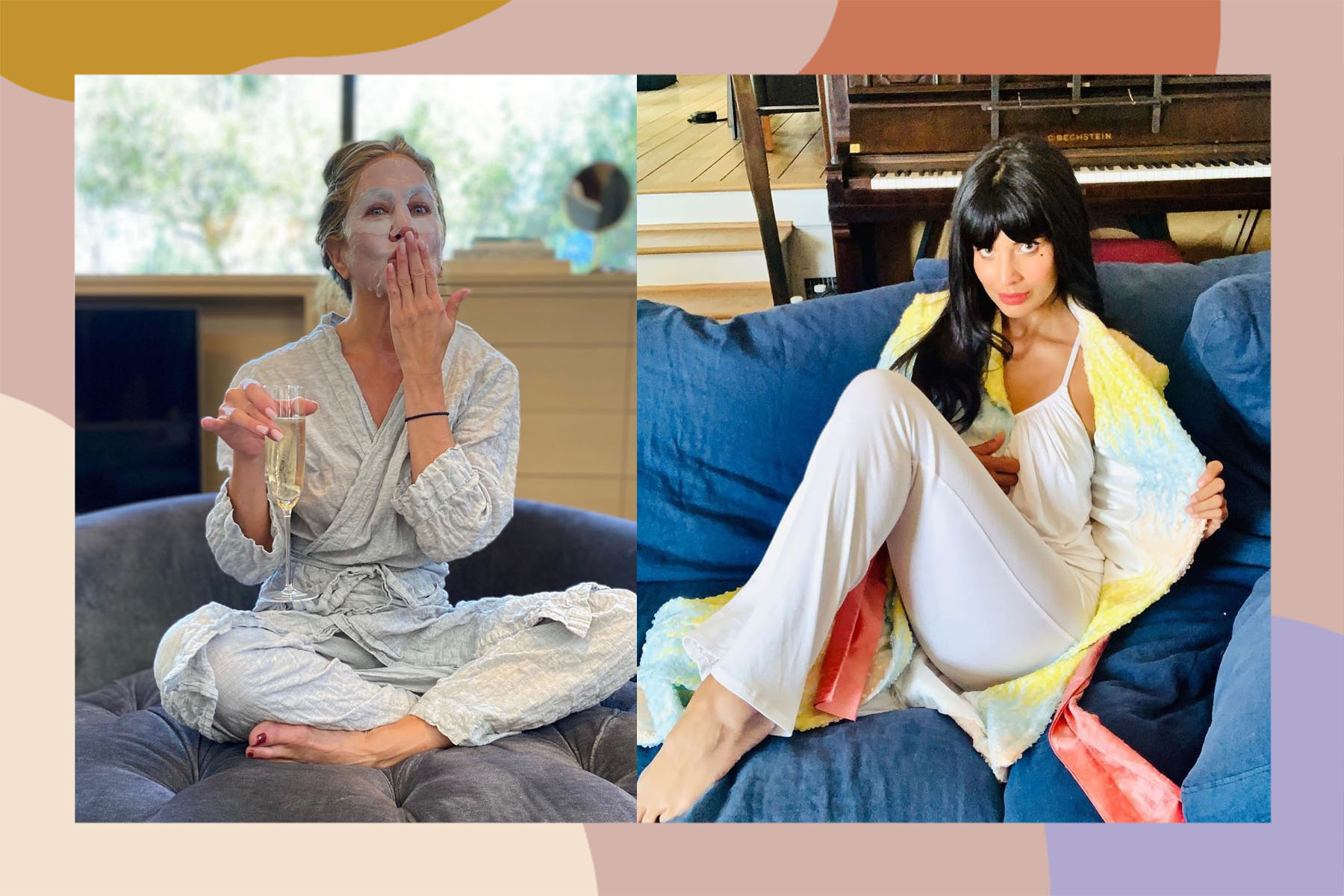 emmys 2020 celebrities pajamas