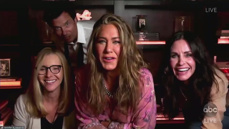 friends emmys 2020, jennifer aniston