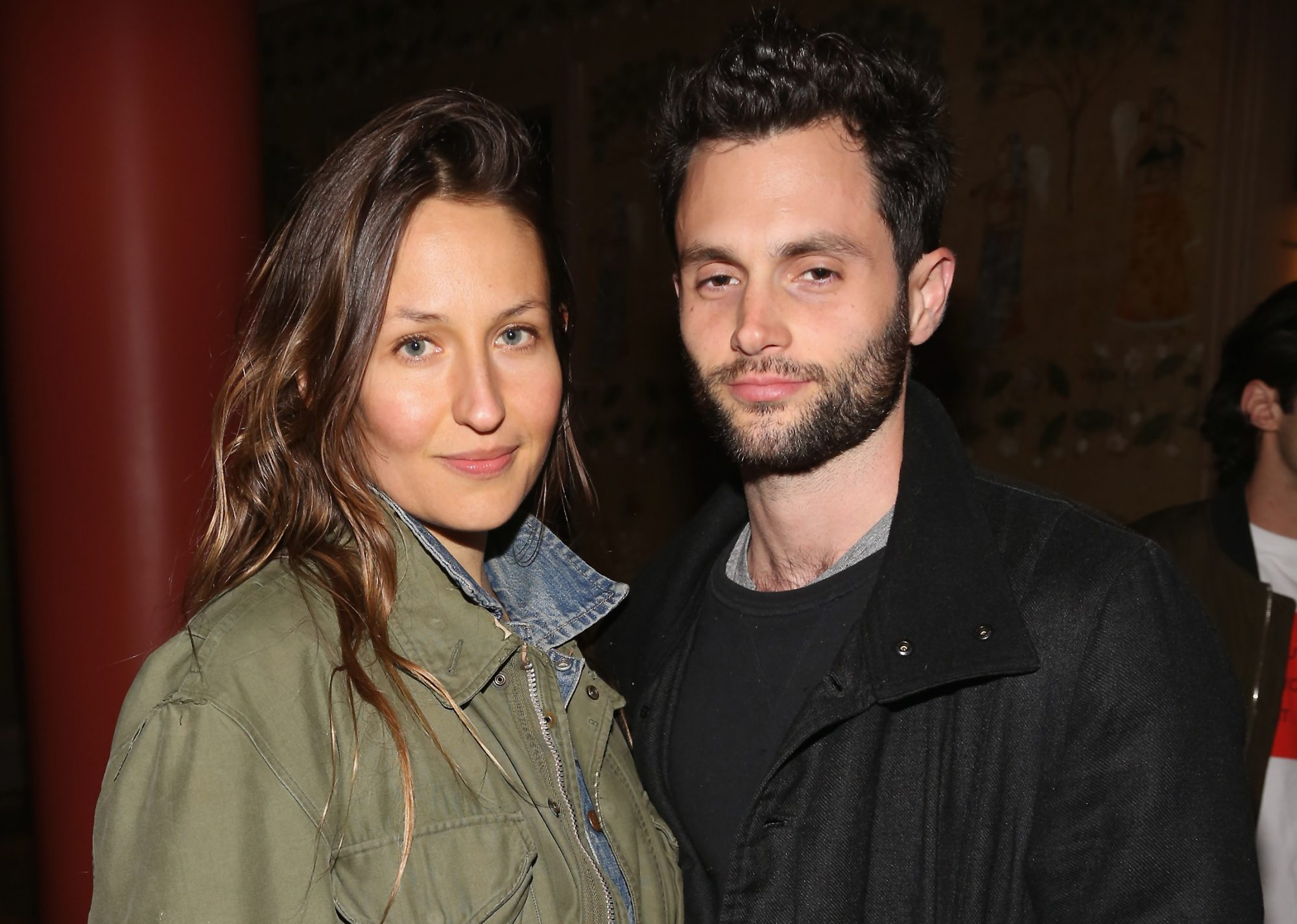 penn badgley and domino kirke baby