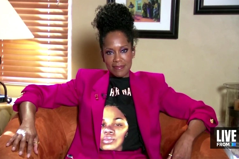 regina king Emmys Breonna Taylor T-shirt