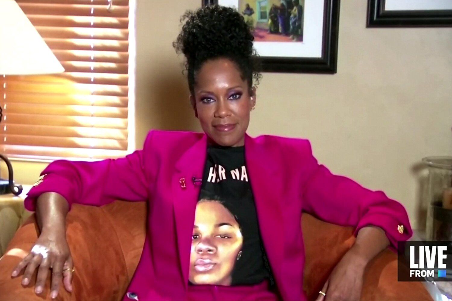 Regina King Wore A Breonna Taylor Shirt To The Emmys And You Can Buy One Now Hellogiggles