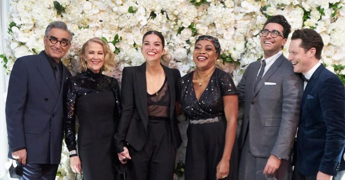 Schitt's Creek Emmys 2020