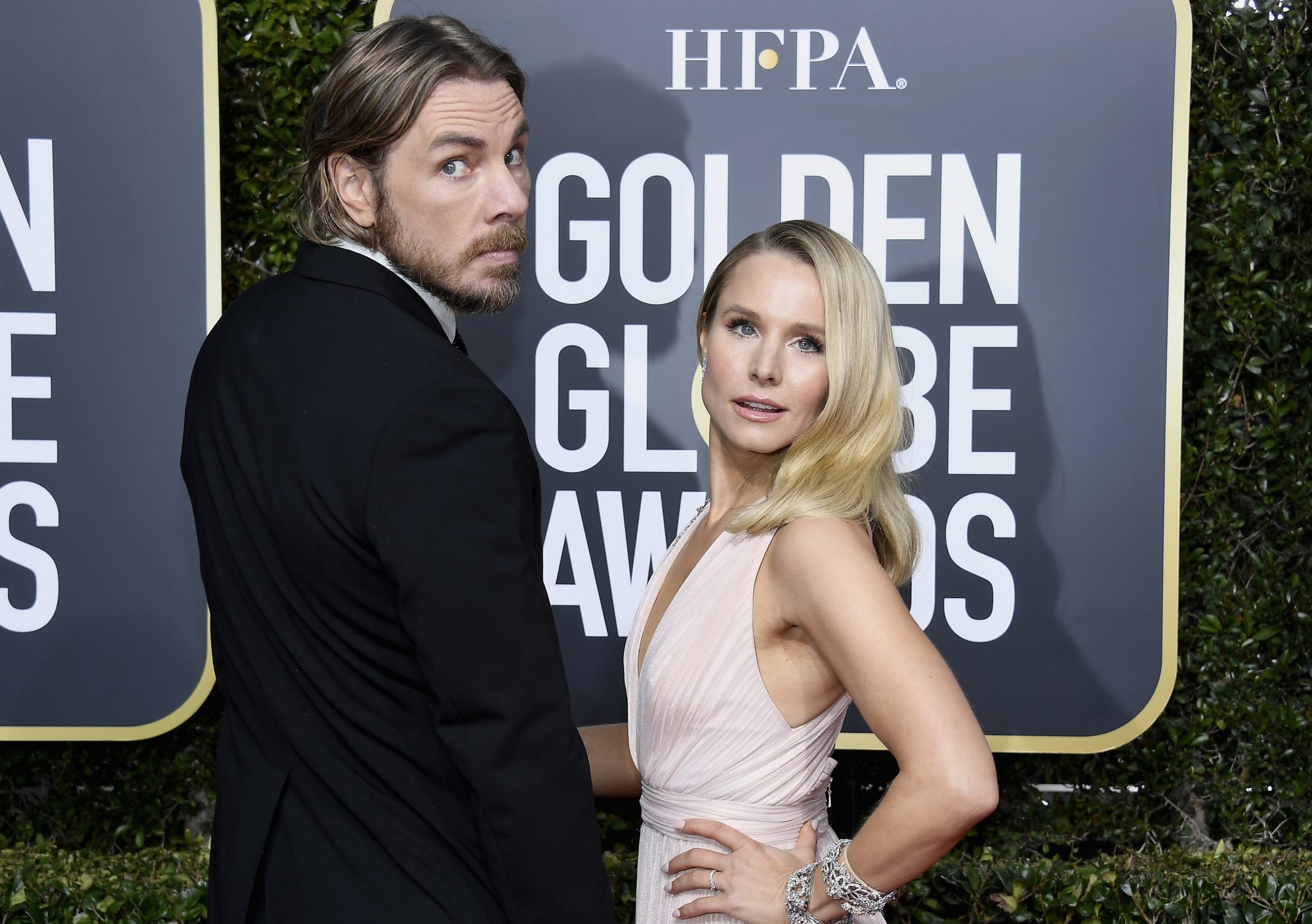 dax shepard and kristen bell awkward picture