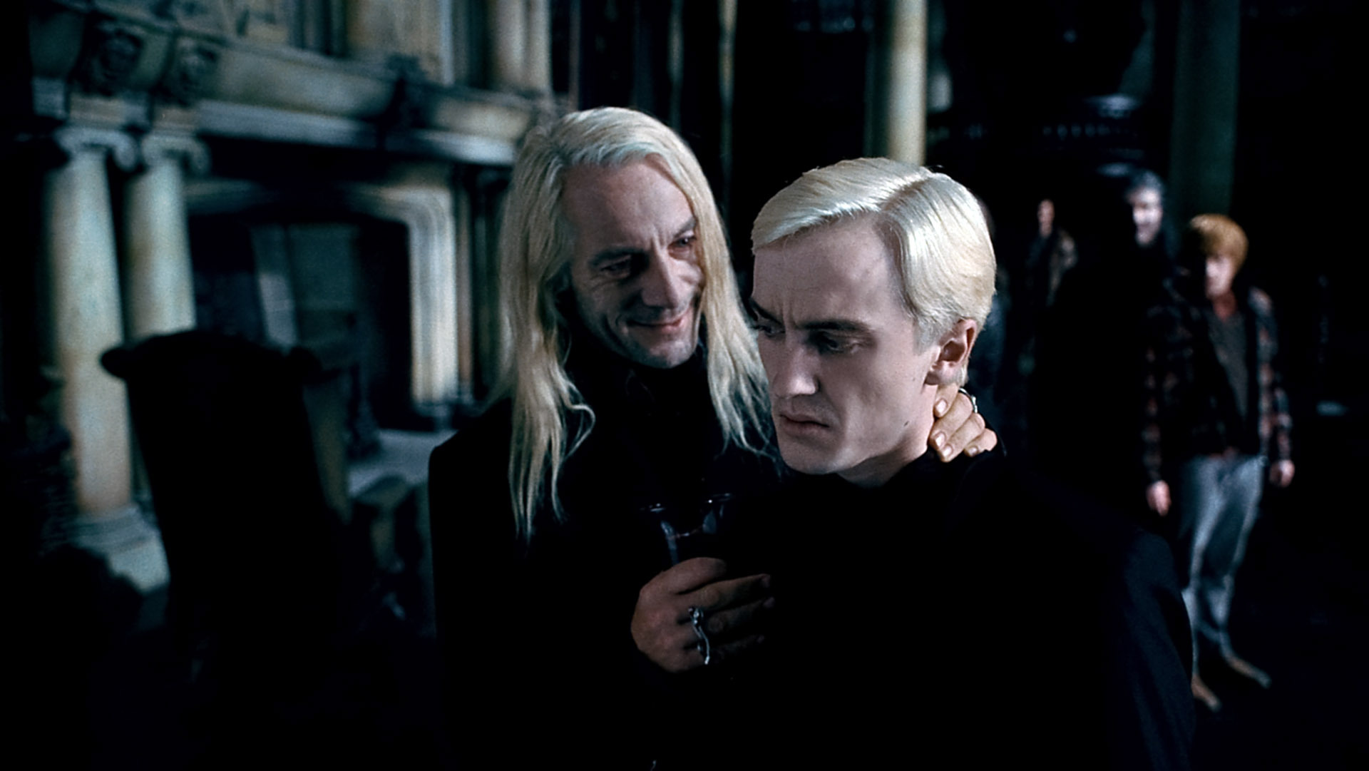 Jason Isaacs Tom Felton birthday message