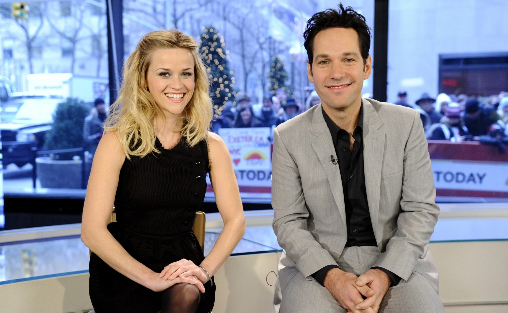 reese witherspoon and paul rudd throwback photo