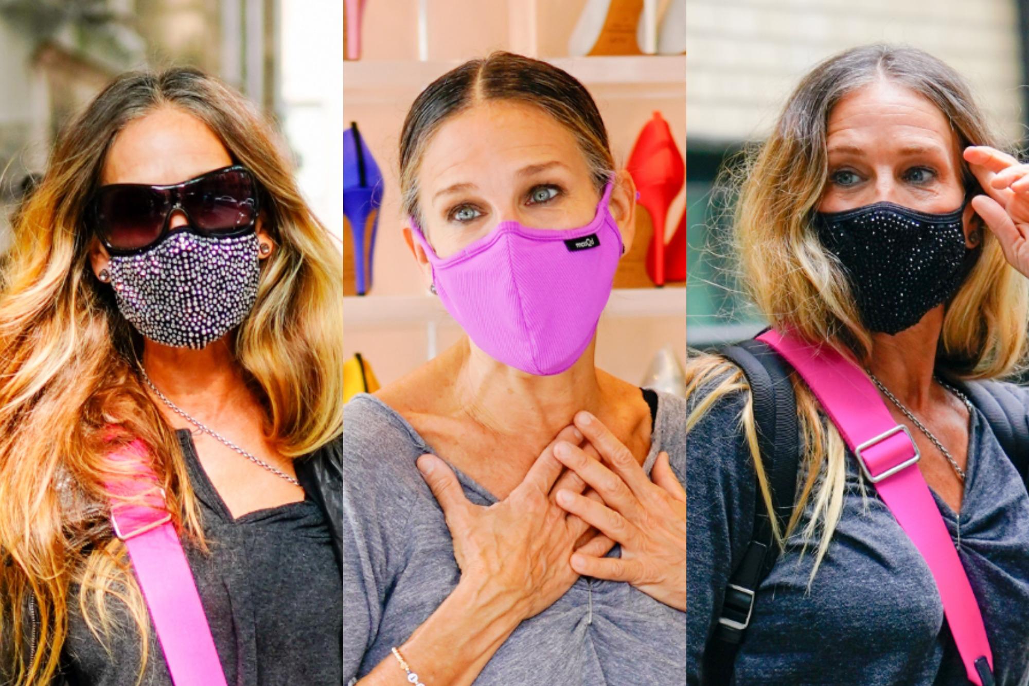 sarah jessica parker face masks