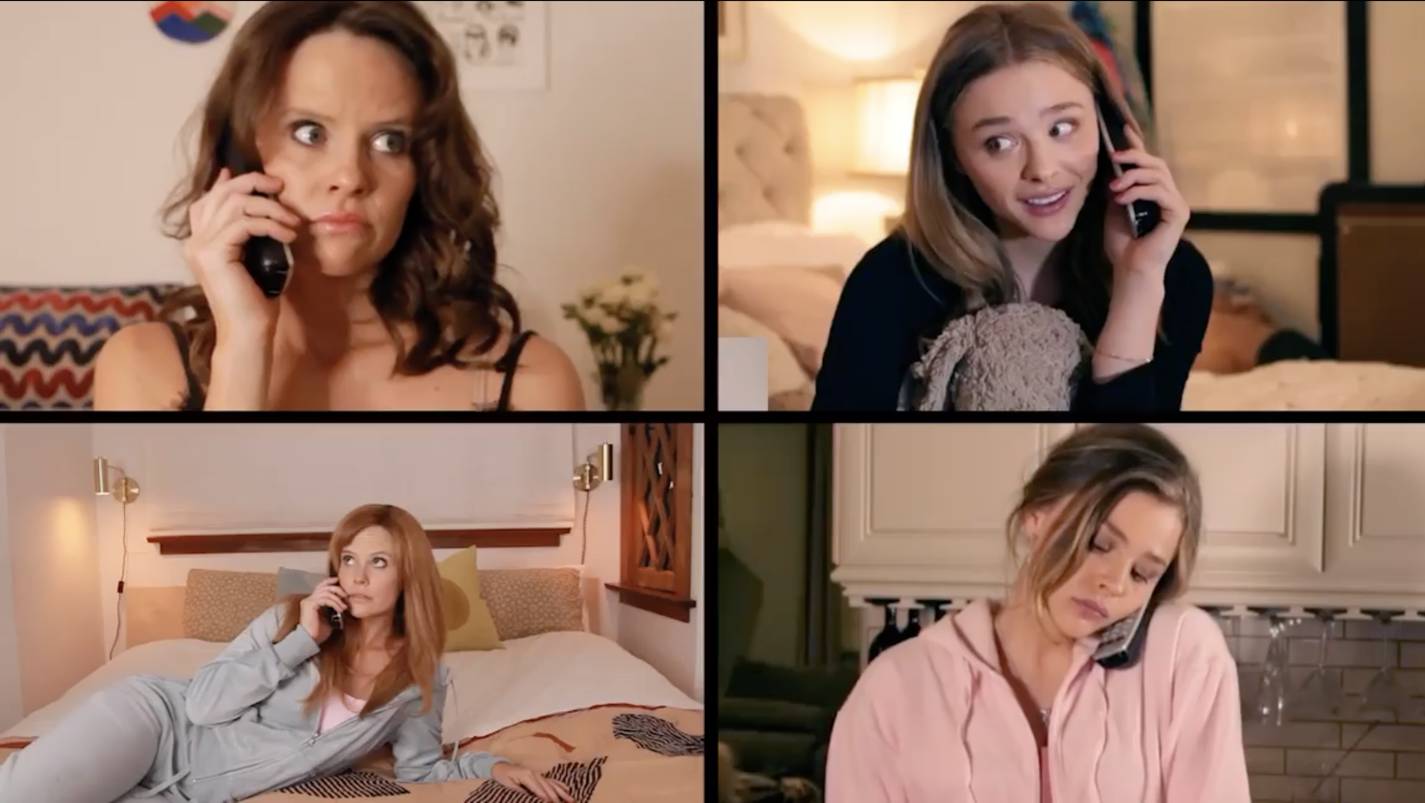 chloe grace moretz and sarah ramos mean girls reenactment