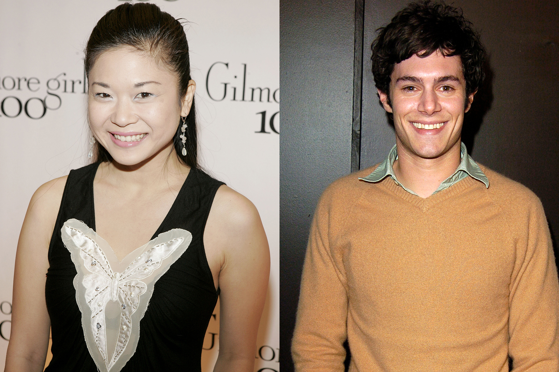 adam brody and keiko agena gilmore girls reunion, dave and lane