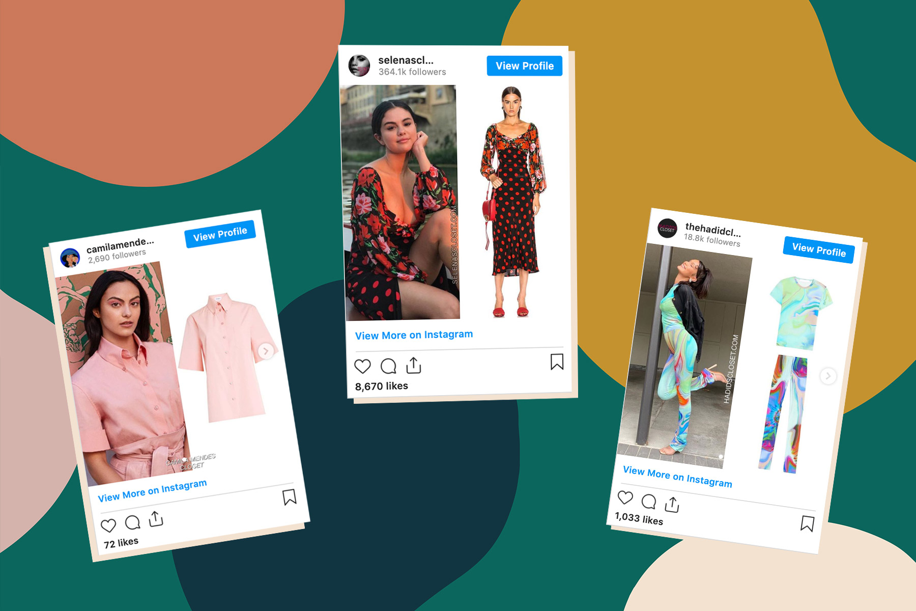 celebrity style on Instagram